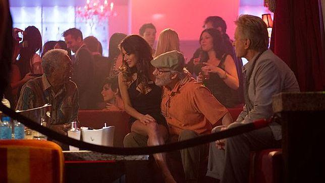 """Morgan Freeman, Weronika Rosati, Kevin Kline i Michael Douglas w """"Last Vegas"""""""