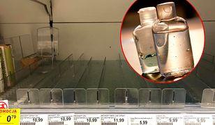 W drogeriach i aptekach zaczyna brakować żeli i mydeł antybakteryjnych. Ludzie obawiają się koronawirusa.