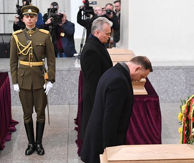 Wilno. Prezydenci Polski i Litwy oddali hołd powstańcom styczniowym