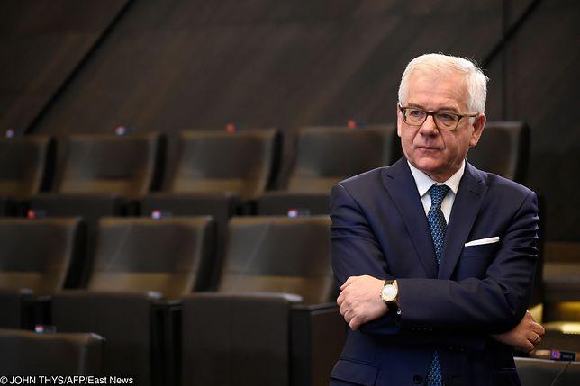 """Jacek Czaputowicz skomentował ruch USA w rozmowie z """"Der Spiegel"""""""