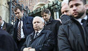 Prezes PiS Jarosław Kaczyński na Wawelu (zdj. arch.)