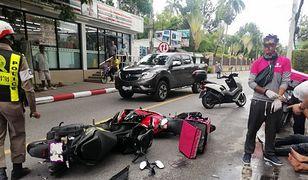 Do wypadku doszło przed hotelem, w którym zatrzymał się policjant
