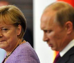 Merkel potajemnie liczy na współpracę gospodarczą z Putinem