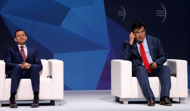 Saakaszwili jest pod wrażeniem poziomu życia w Polsce
