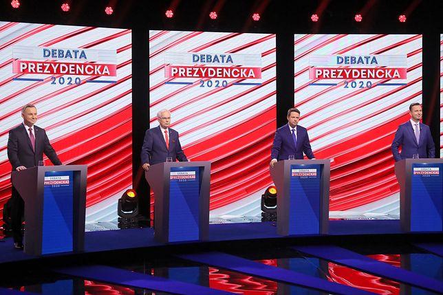 "Debata prezydencka 2020. ""Farsa"" i ""strefa relaksu"" w komentarzach"