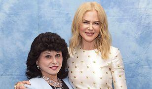 Yola Czaderska-Hayek i Nicole Kidman, która skończyła w czerwcu 50 lat