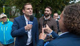 Dziennikarz Łukasz Sitek