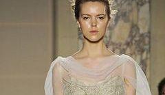Suknie ślubne Marchesa na jesień i zimę 2012