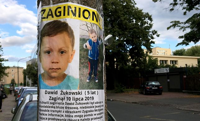 Dawid Żukowski zaginął ponad tydzień temu