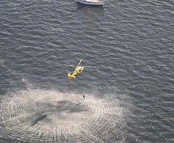 Nietypowa interwencja na morzu. Dryfowała 10 km od brzegu