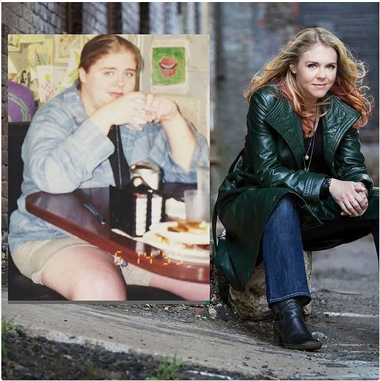 Kelly długo walczyła z otyłością