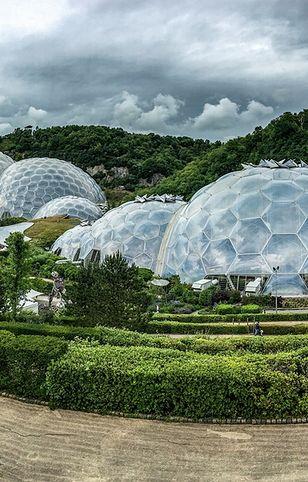 Eden to największy kryty ogród na świecie