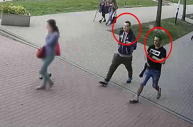 Uchwyceni na nagraniu złodzieje dokonali kradzieży w ekspresowym tempie.