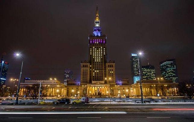 Na Pałacu Kultury i Nauki rozbłyśnie wielkie serce!