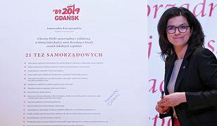Aleksandra Dulkiewicz spotka się we wtorek z premierem Mateuszem Morawieckim