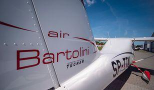 Samolot firmy Bartolini Air