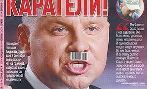 Andrzej Duda na okładce białoruskiej gazety