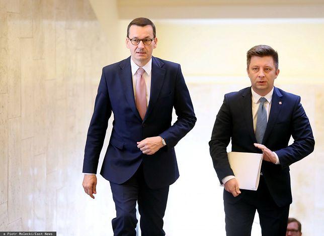 Afera mailowa. Mateusz Morawiecki oraz Michał Dworczyk