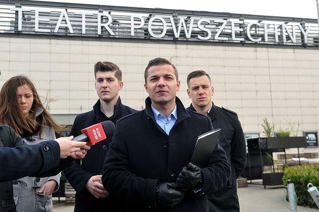 """Młodzież Wszechpolska zapowiada protesty przeciwko """"Klątwie"""""""