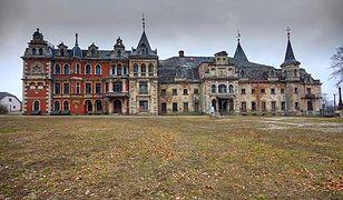 Górny Śląsk - zespół pałacowo-parkowy w Krowiarkach