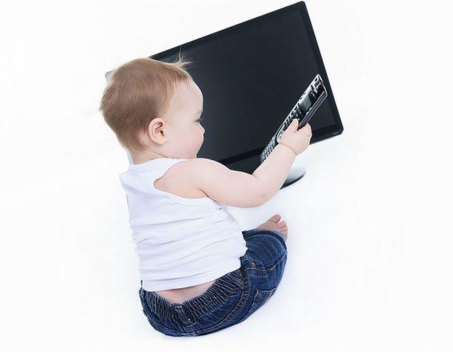 Dziecko + telewizor = WYPADEK!!!