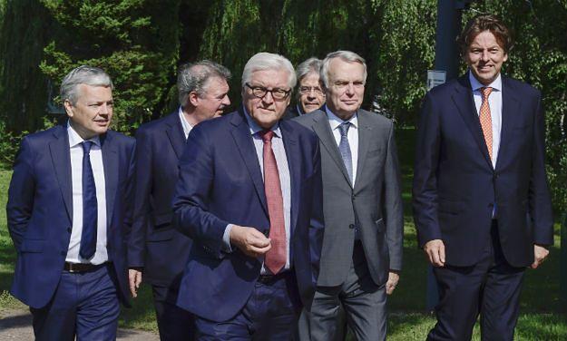 Szefowie MSZ sześciu państw w Berlinie