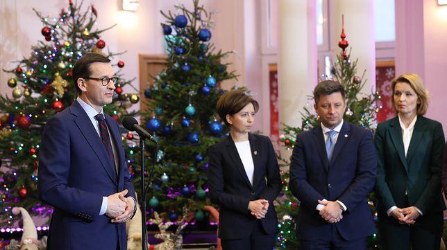 Premier Mateusz Morawiecki na spotkaniu z nową Radą Rodziny.