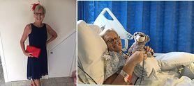 Cieszyła się, że schudła. Cierpiała na raka trzustki