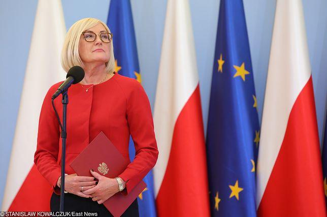 Rzecznik rządu Joanna Kopcińska