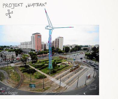 Ogromny wiatrak powstanie na Grochowie