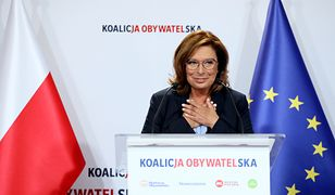 Warszawa. Małgorzata Kidawa-Błońska jest kandydatką na premiera Koalicji Obywatelskiej