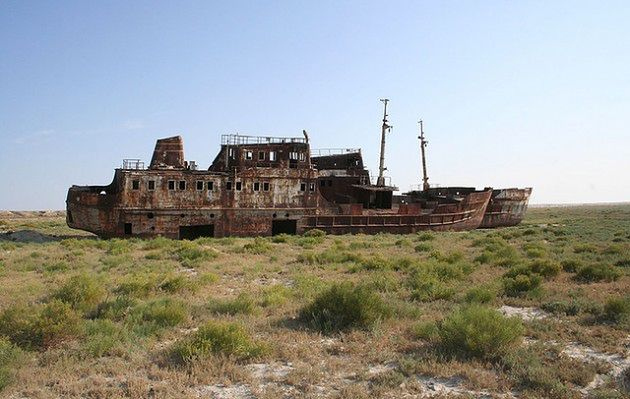Jezioro Aralskie, Kazachstan/Uzbekistan