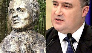 Pomnik Przemysława Gosiewskiego stanął w Dąbkach