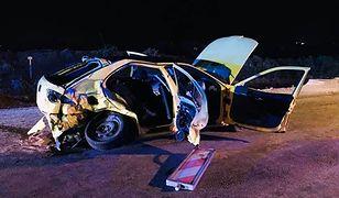 Wypadek w Bilczy. DK 73 z Kielc do Buska-Zdrój była zablokowana przez 5 godzin