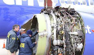 Silnik wybuchł podczas lotu