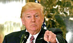 Donald Trump nie boi się impeachmentu. Twardo deklaruje przyjaźń z Arabią Saudyjską.