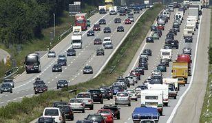 Autostrada A4 zablokowana przy węźle Kostomłoty