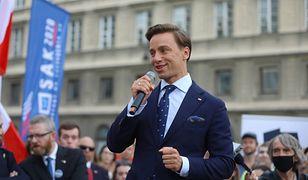 Wybory prezydenckie 2020. Krzysztof Bosak skomentował słowa Andrzeja Dudy o szczepionkach (zdjęcie ilustrowane)