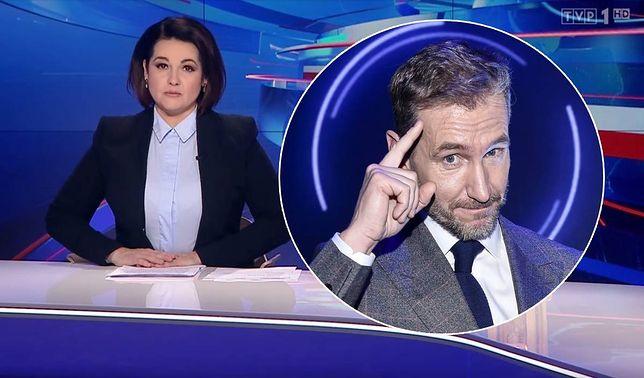 """Edyta Lewandowska odczytała przeprosiny na antenie """"Wiadomości"""". Przypomniała, że redakcją kierował wówczas Piotr Kraśko"""