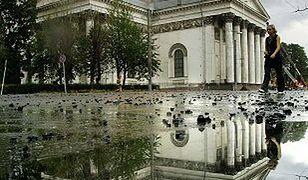 Spłonął Sobór św. Trójcy w Petersburgu