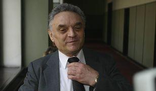 """""""James Bond PRL-u"""", czyli kpt. Andrzej Czechowicz, powraca. Na zdjęciu podczas procesu z PAP w 2005 roku."""