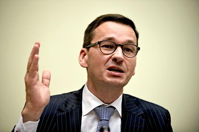 Mateusz Morawiecki jest zadowolony z wizerunku Polski w Europie