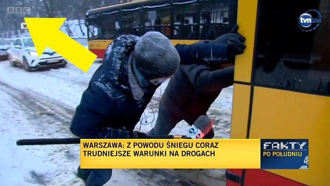 O niezwykłej relacji z Warszawy mówiono nawet w BBC
