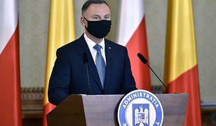 """Mocne słowa Andrzeja Dudy w Rumunii. """"Niebezpieczeństwo ze Wschodu"""""""