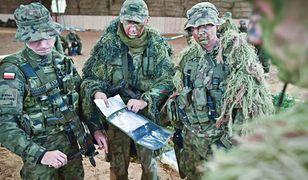 Wojska Obrony Terytorialnej przygotowują się do ćwiczeń.