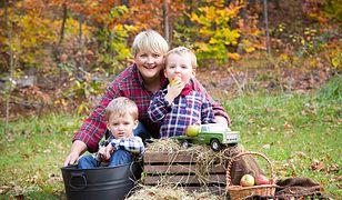 Małgorzata Kuc-Ferris z synami