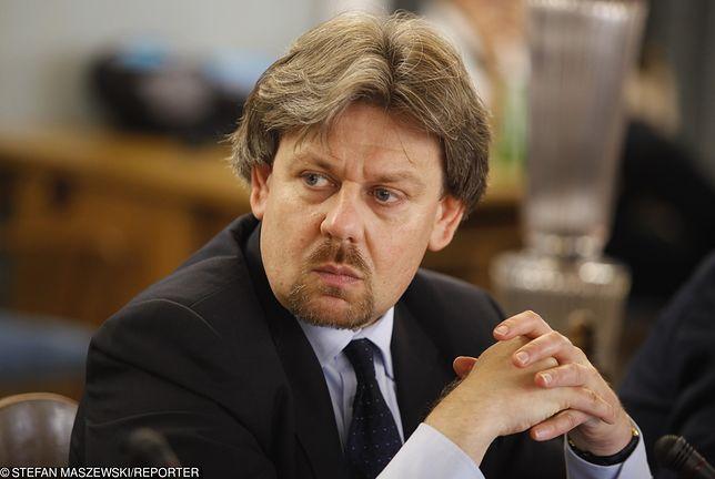 Piotr Misiło w poniedziałek został zawieszony