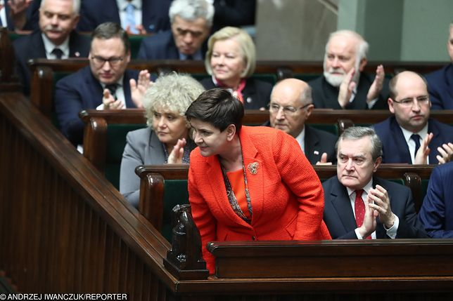 Debata nad wotum nieufności dla rządu. Szydło mocno atakuje opozycję