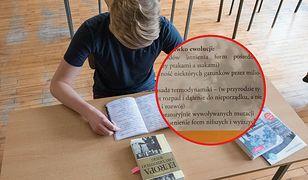 Internauci oburzeni treściami w podręczniku