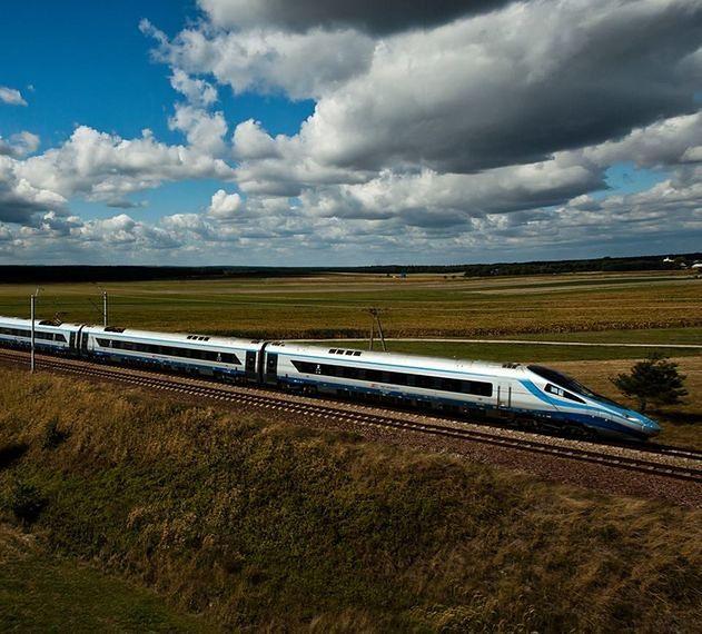 Szybsze pociągi na Centralnej Magistrali Kolejowej